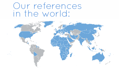 Our references in the world