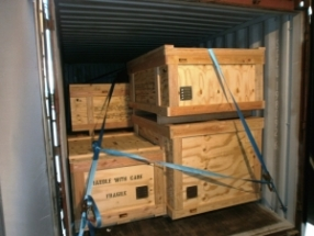 Shipment of goods from France to Indonesia